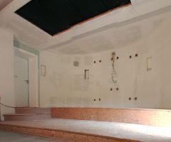 II etap realizacji kina w salonie