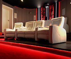 III etap realizacji kina w salonie