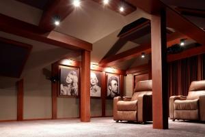 pokój kinowy w domu