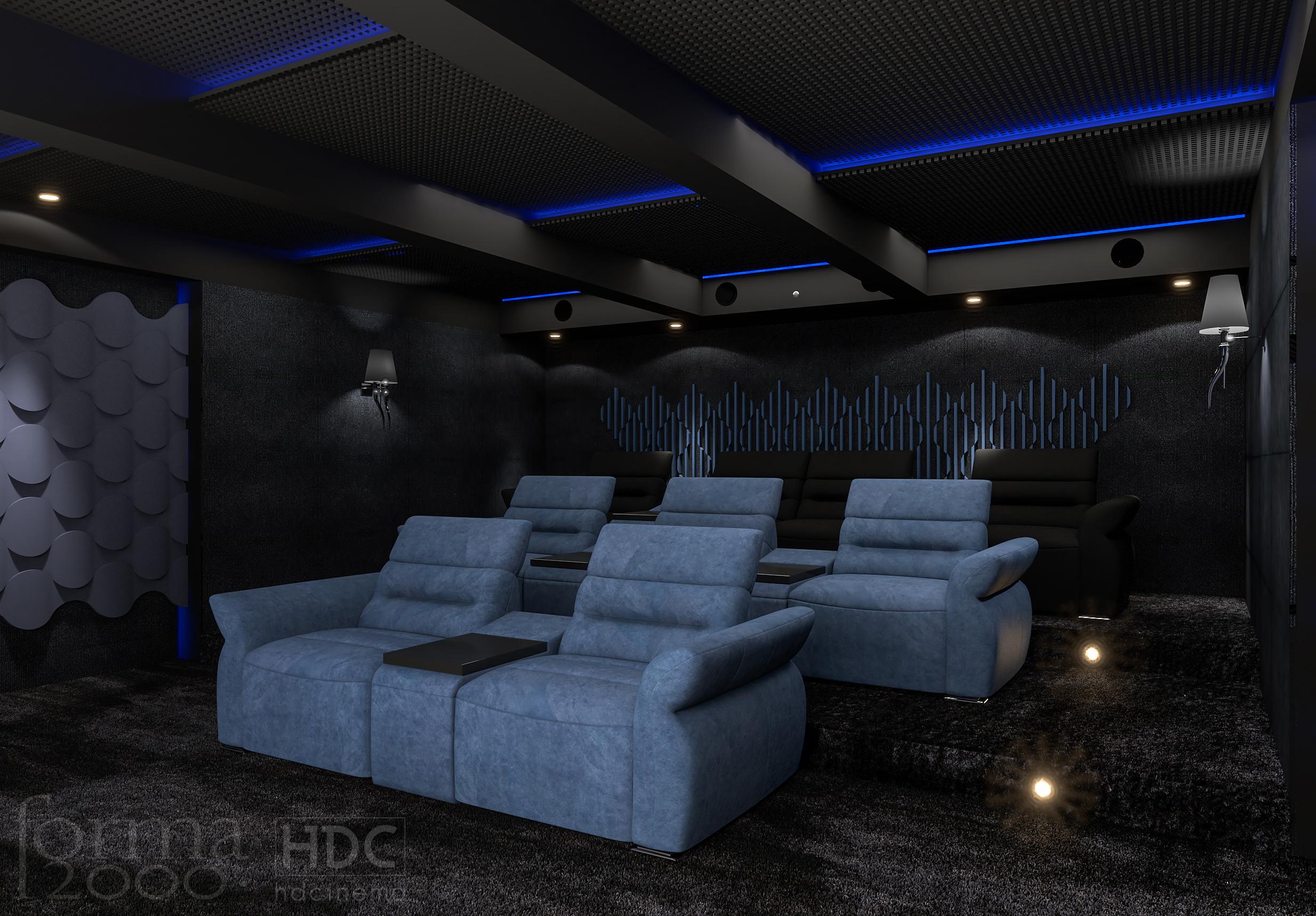 prywatna sala kinowa