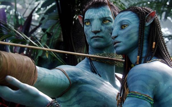 kadr z filmu Avatar