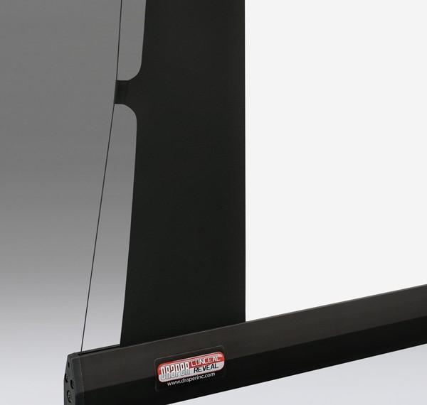ekran projekcyjny z napinaczami