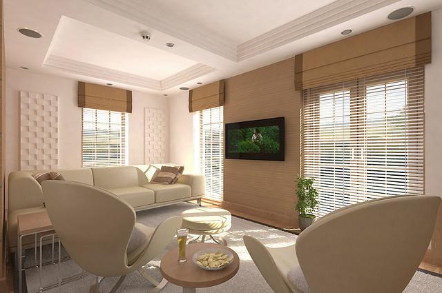 kino domowe w salonie