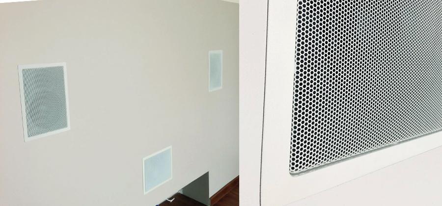 głośnik w ścianie